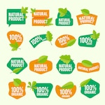 Natural product label collection