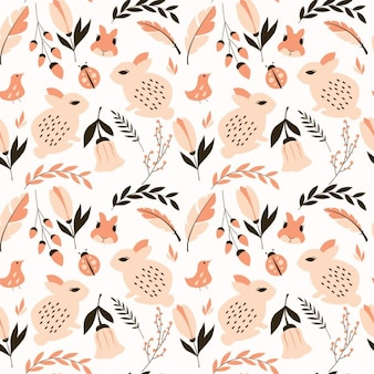 Nature pattern design