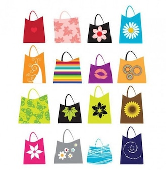 Nature shopping bags
