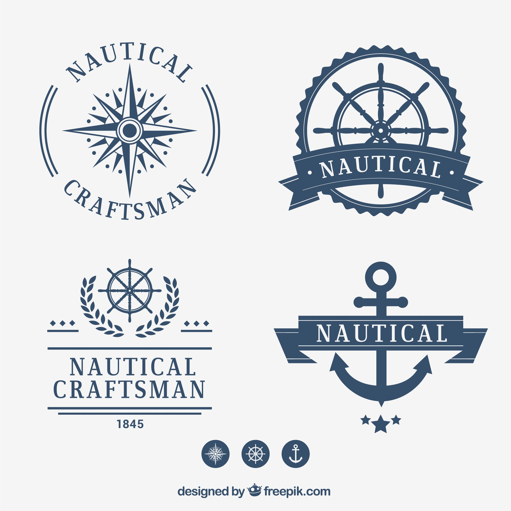 Nautical badge collection