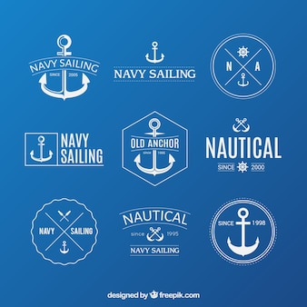 Nautical badges