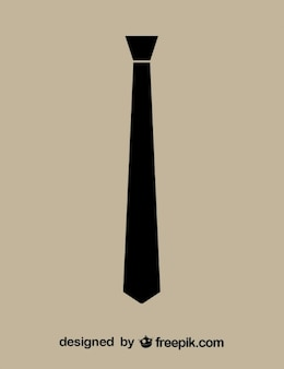 Necktie Black Icon