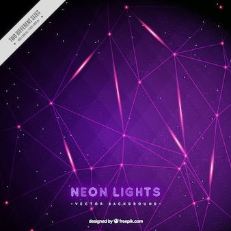 Neon lights background