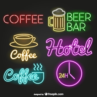Neon signs pack
