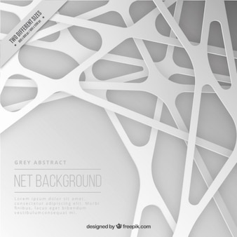 Net background in abstract style