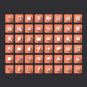 Network icons collection
