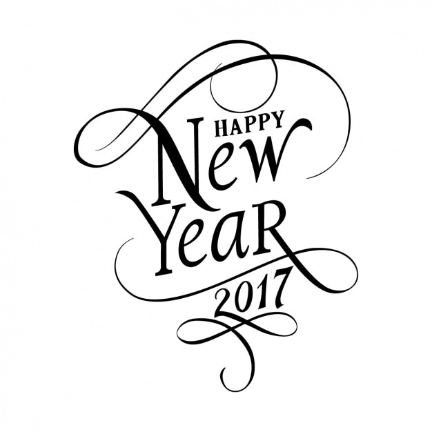 Happy New Year 2017 Background Vector   Free Download