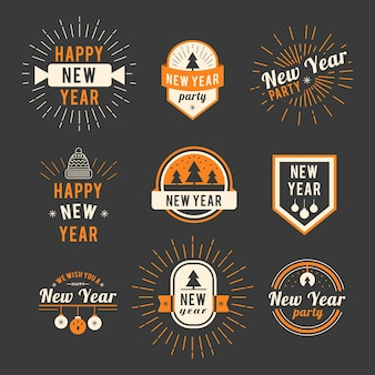 New year logo collection