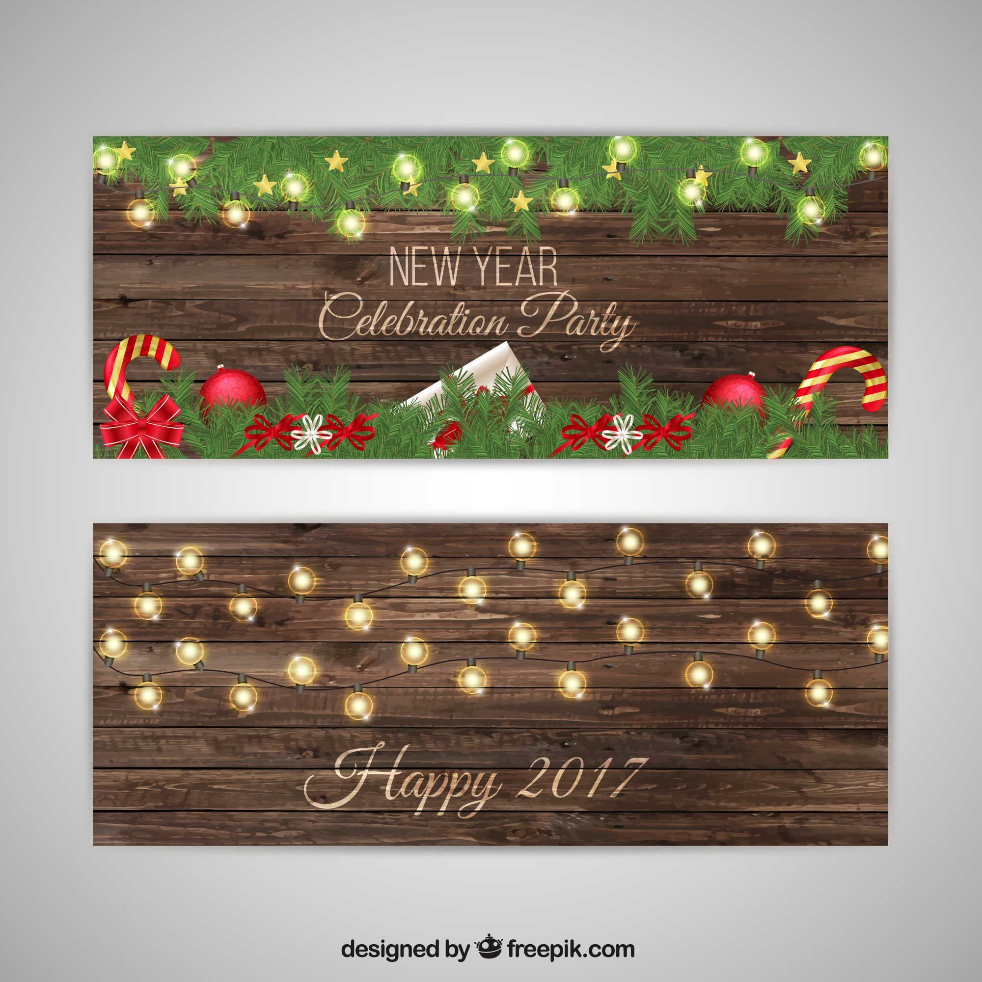 New Year Party Invitation Pack
