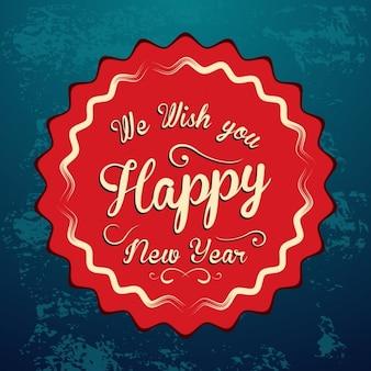 New year stamp