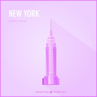 New York free landmark illustration