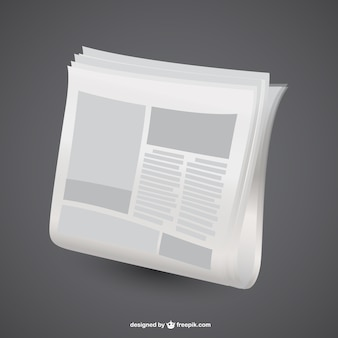 Newspaper graphic vector design