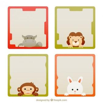 Nice and cute animal frames