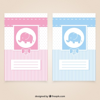Nice baby shower cards