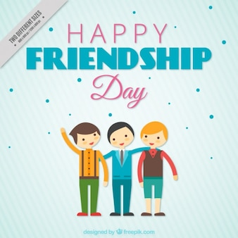 Nice background of friendship day
