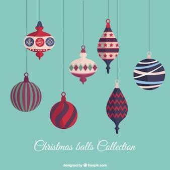 Nice christmas balls background