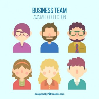 Nice collection of business team