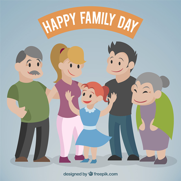 Nice family together