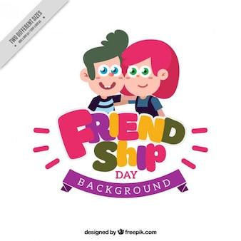 Nice friendship background
