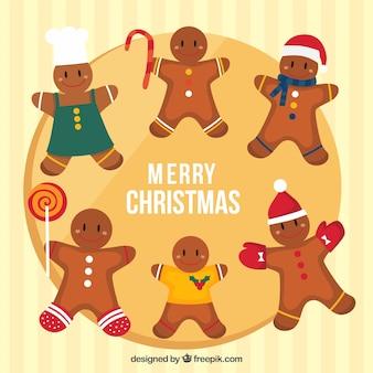 Nice gingerbread cookies