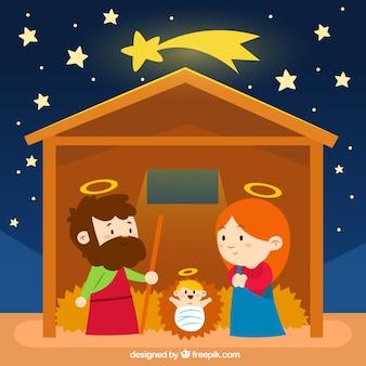 Nice nativity scene