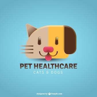 Nice pet healthcare logo