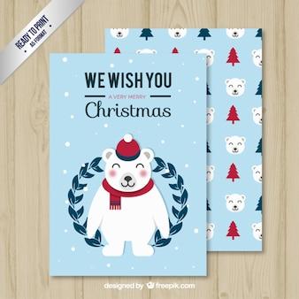 Nice polar bear card