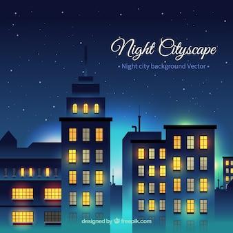 Night building cityscape