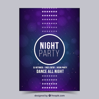 Night party poster