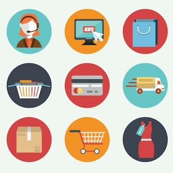 Nine flat elements about e commerce