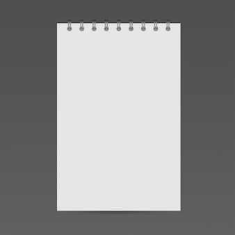 Notepad mockup