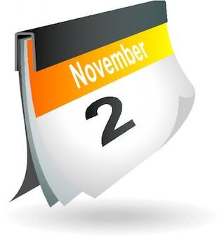 November 23 calendar page icon