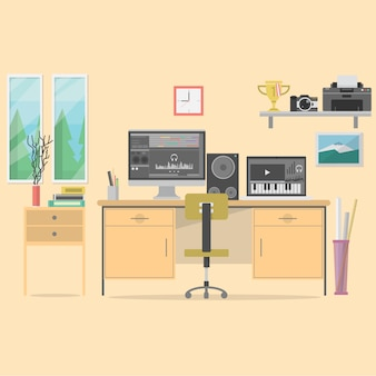 Office background design