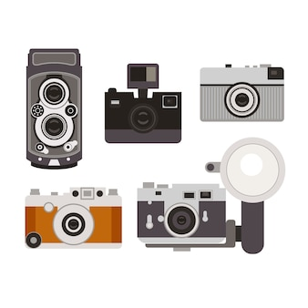 Old cameras collection