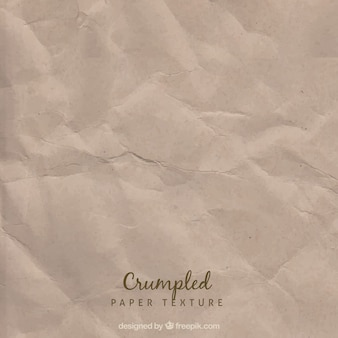 Old crumpled page texture