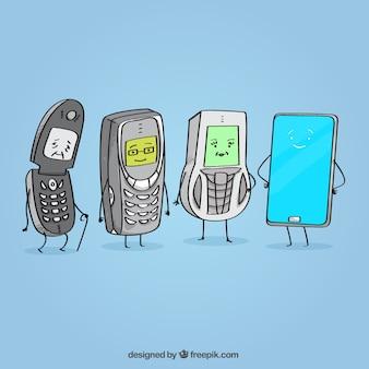 Old mobiles vs new mobile