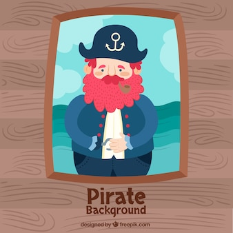 Old pirate background