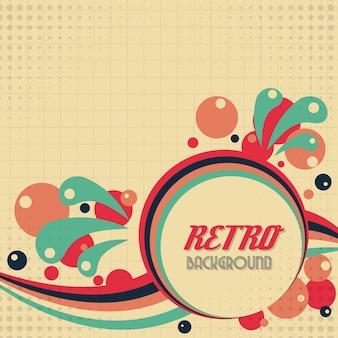 Old vintage style background design