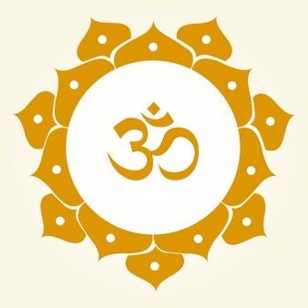 Om Symbol Ornamental