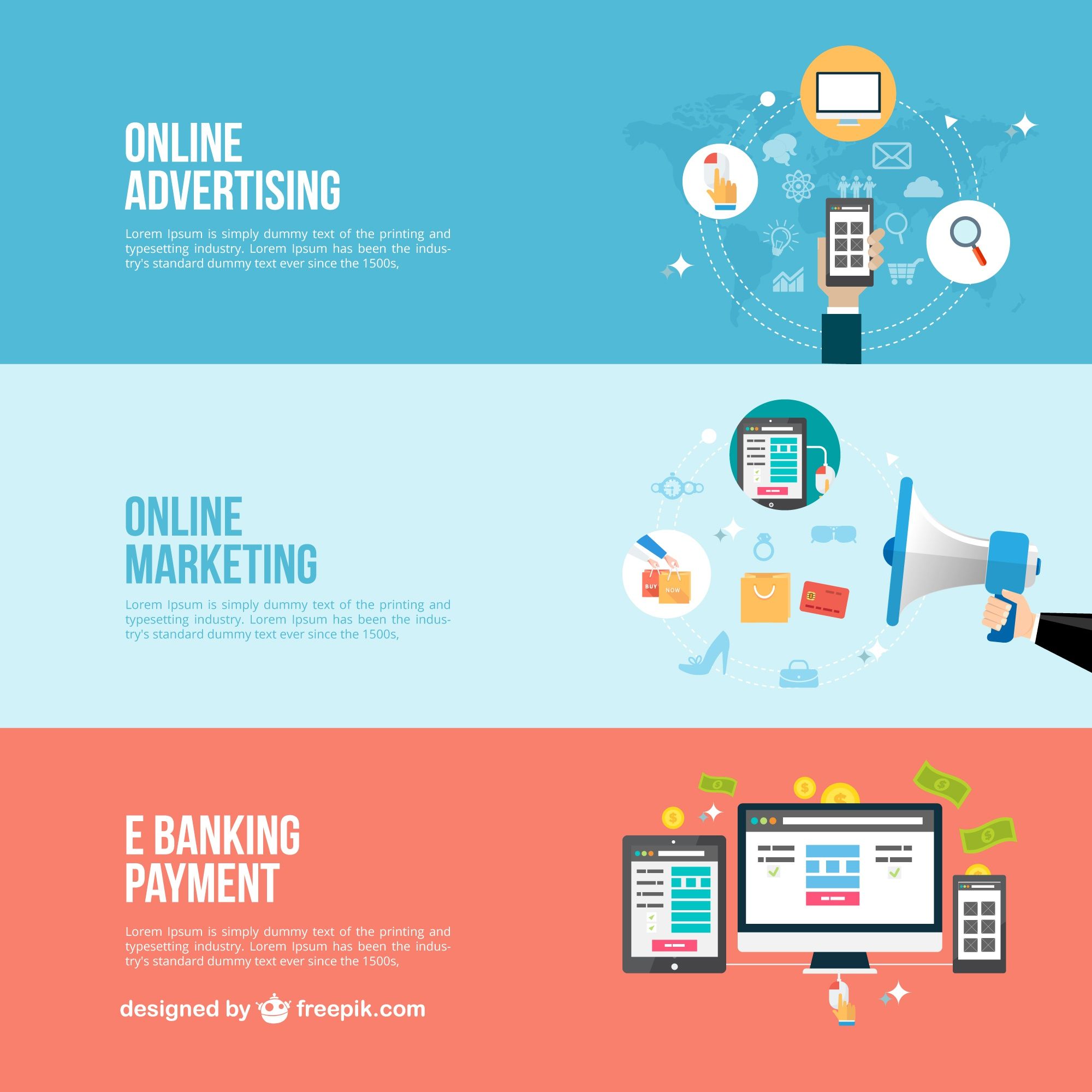 Online business banners