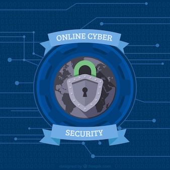 Online security background