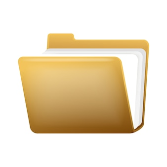 Open Folder With Documents