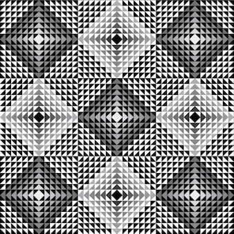 Optical pattern in grayscale style