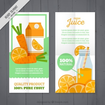 Orange and carrot flyer