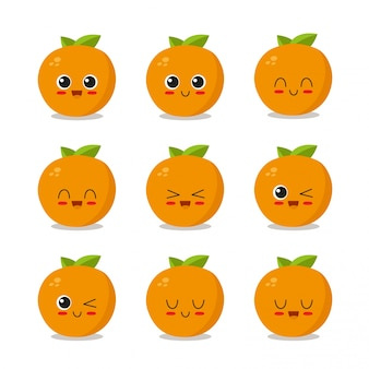 Orange character collection