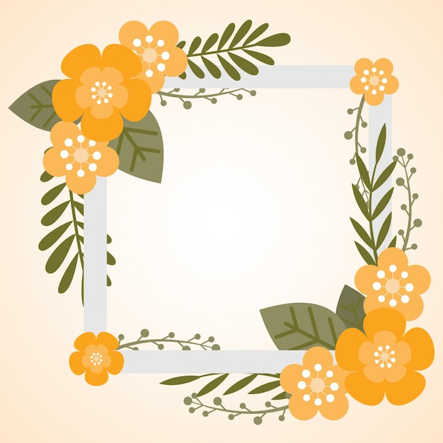 <b>Floral</b> and Vintage <b>frame background</b> 1 | EPS format free vector ...