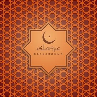 Orange islam culture background