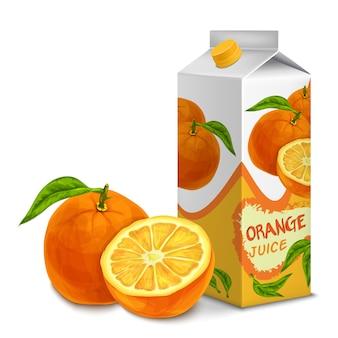 Orange juice design