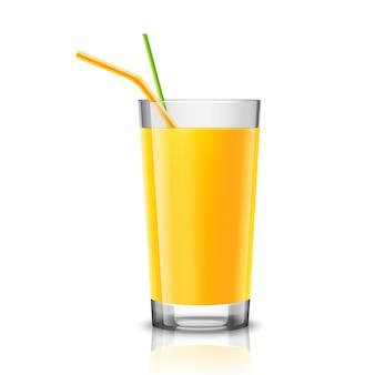 Orange juice glass design