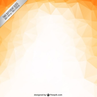 Orange polygons background